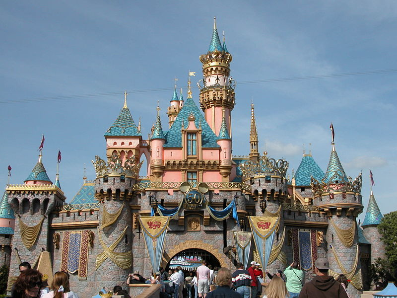 Attractions at Disneyland
