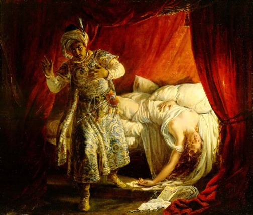 Image result for othello in despair in renaissance painting