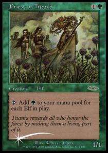 Preist Titania - MTG