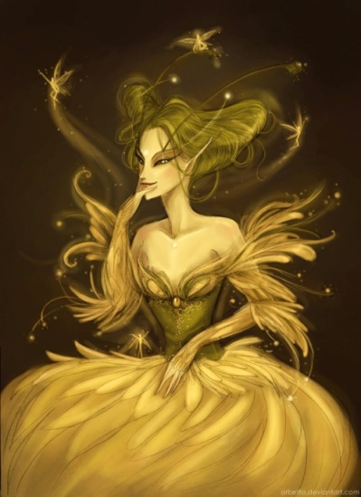 """Queen Titania, from the great Shakespeare play """"A Midsummer Night's Dream by Arbetta"""