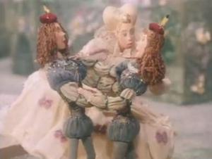 Viola and Sebastian reunited in the animated adaptation of Twelfth Night