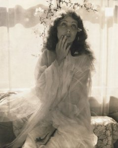 fay wray as ophelia vogue 1930 photo by edward steichen