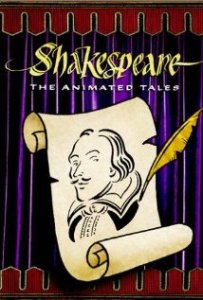 A poster of Shakespeare: The Animated Tales (1992)