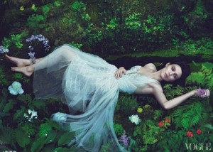 Actress Rooney Mara in Vogue US' 2011 issue